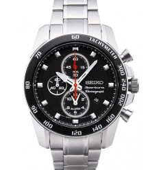 Ceas de mana Barbatesc Seiko Sportura Alarm Chronograph SNAE69P1