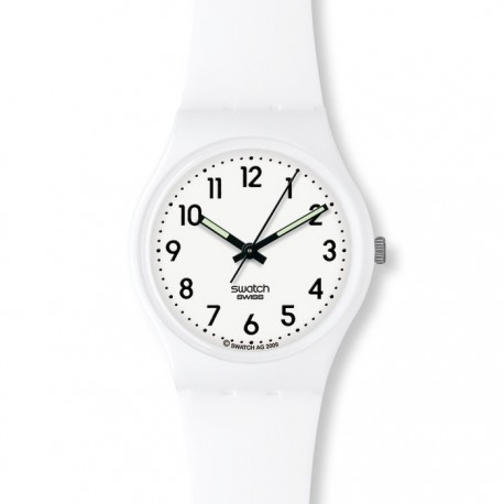 Ceas de mana Swatch Just White GW151