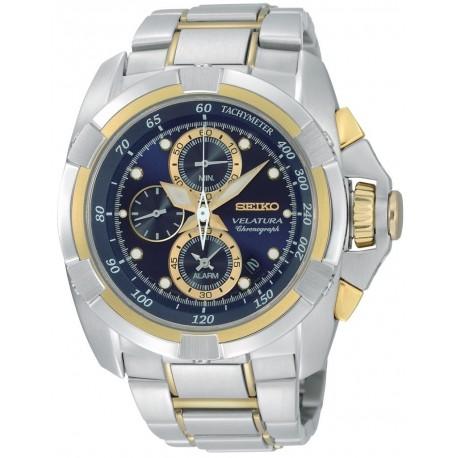 Ceas de mana Barbatesc Seiko Velatura Alarm Chronograph SNAD80P1
