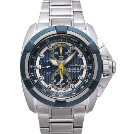 Ceas de mana Barbatesc Seiko Velatura Alarm Chronograph SNAE19P1