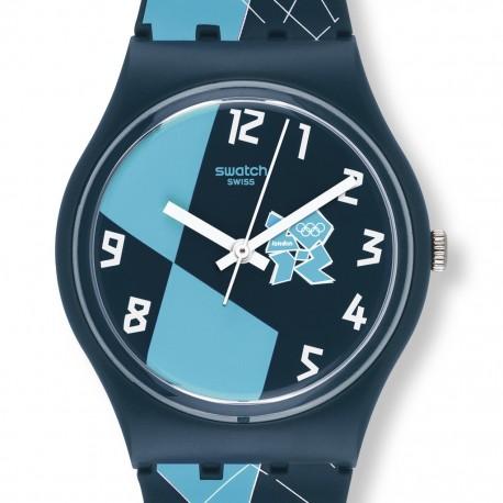 Ceas de mana Swatch Olympic 2012 Blue GZ267