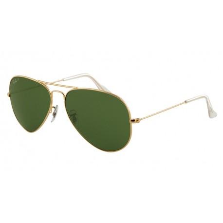 Ochelari de soare original Ray Ban Aviator Polarizati rb3025 001/58