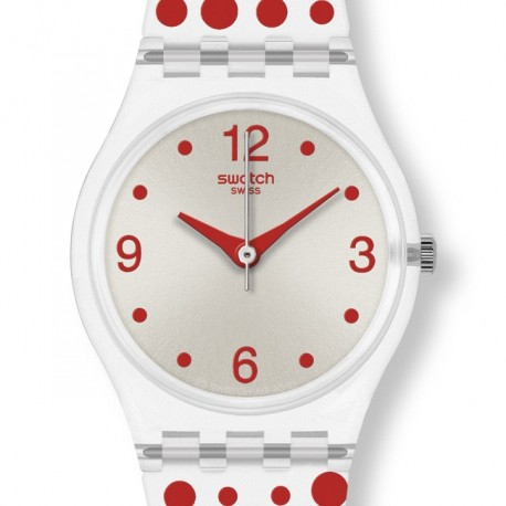 Ceas de dama Swatch Red Darling LK318