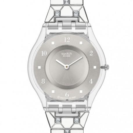 Ceas de dama Swatch Elegantly Framed SFK356G