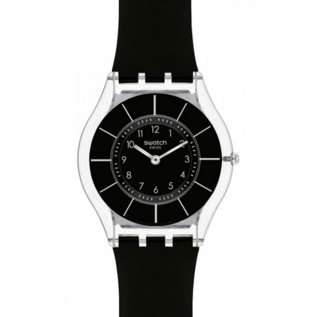 Ceas de dama Swatch Black Classiness SFK361