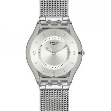 Ceas de dama Swatch Metal Knit SFM118M
