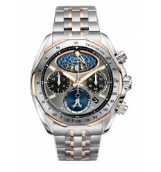 Ceas de mana barbati Citizen Moon Phase Flyback Chronograph AV3006-50H