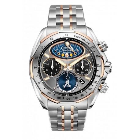 Ceas de mana barbati Citizen Moon Phase Flyback Chronograph AV3006-50H
