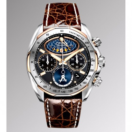 Ceas de mana barbati Citizen Moon Phase FLyback Chronograph AV3006-09E