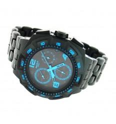 Ceas de mana Swatch Black Dunes Blue SUIB409