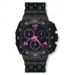 Ceas de mana Swatch Black Dunes Pink SUIB410