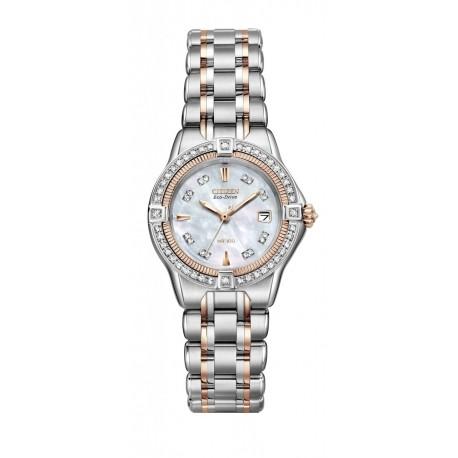 Ceas de mana dama Citizen Quattro Diamond EW2066-58D