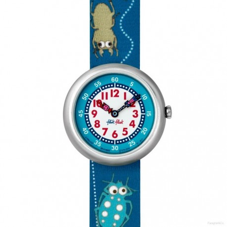 Ceas copii Swatch Flik Flak Buggin`Around FBN078