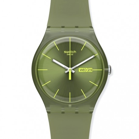 Ceas barbatesc Swatch Olive Rebel SUOG700