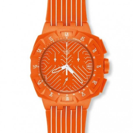 Ceas babratesc Swatch Flash Run SUIO400