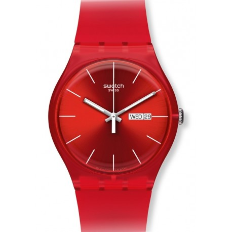 Ceas barbatesc Swatch Red Rebel SUOR701