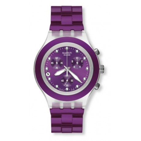 Ceas de mana Swatch Full-Blooded Blueberry SVCK4048AG