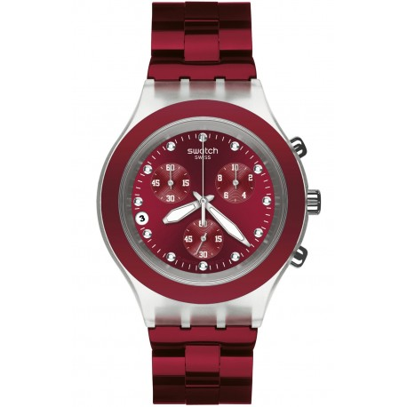 Ceas de mana Swatch Full-Blooded Burgundy SVCK4054AG