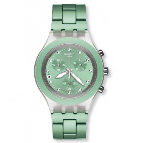 Ceas de mana Swatch Full-Blooded Mint SVCK4056AG