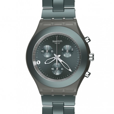 Ceas de mana Swatch Full-Blooded Smokey Grey SVCM4007AG