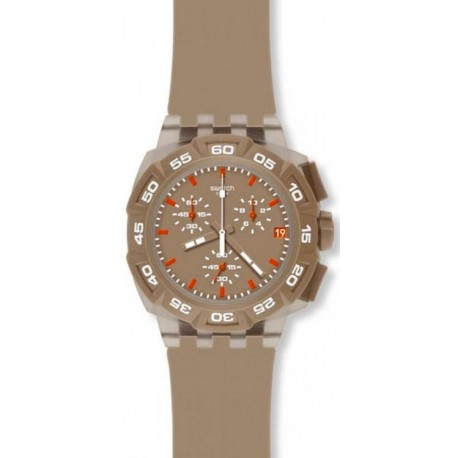 Ceas de mana Swatch Beige Hero SUIT400