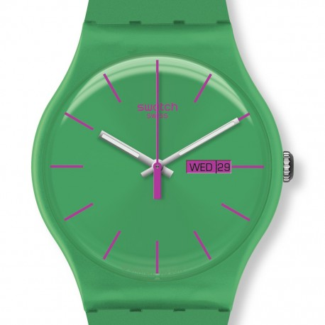 Ceas de mana Swatch Green Rebel SUOG704