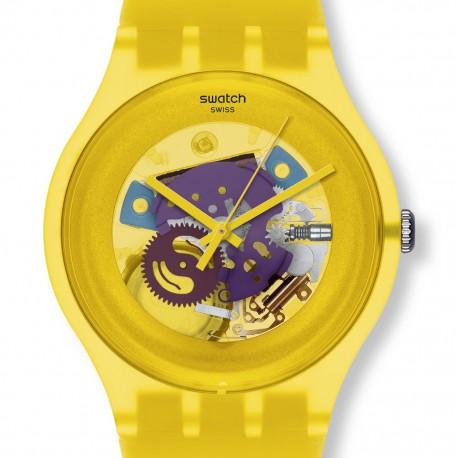 Ceas de mana Swatch Yellow Lacquered SUOJ100