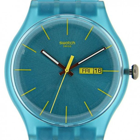 Ceas de mana Swatch Turquoise Rebel SUOL700