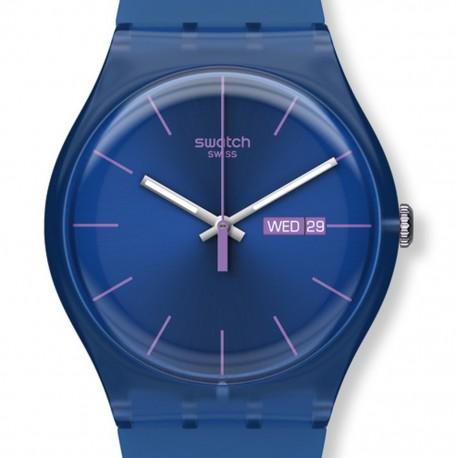 Ceas de mana Swatch Dark Blue Rebel SUON701