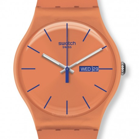 Ceas de mana Swatch Orangy Pink Rebel SUOO701