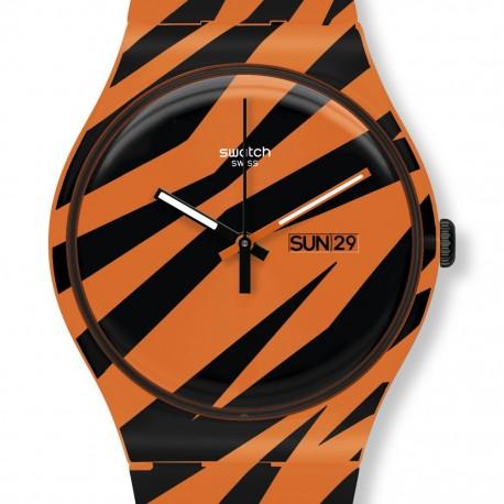 Ceas de mana Swatch Wonder Zebra SUOZ703