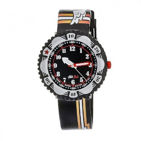Ceas de mana Swatch Black Stripes FPS035