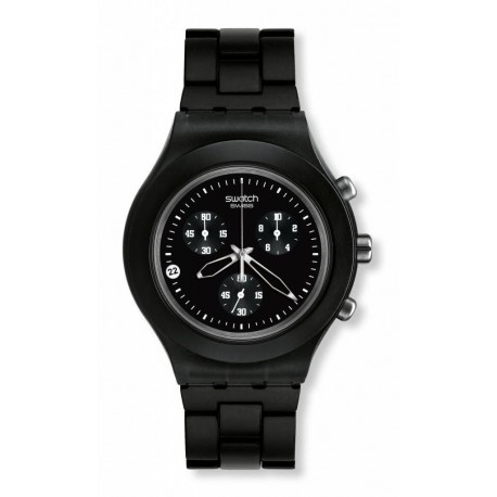 Ceas de mana Swatch Full-Blooded Smokey Black SVCF4000AG