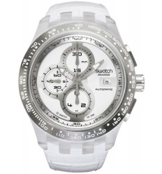 Ceas de mana Swatch Right Track White Automatic SVGK406