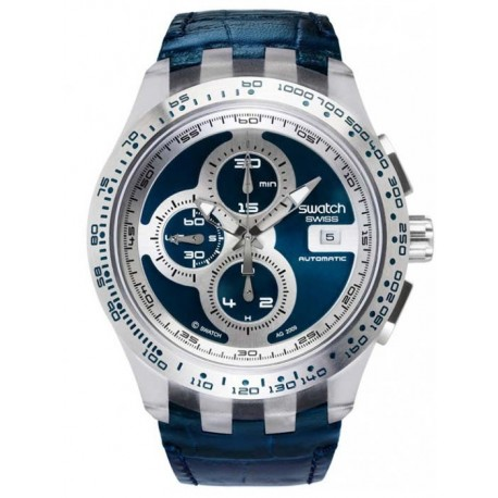 Ceas de mana Swatch Ríght Track Blue Automatic SVGK407