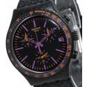 Ceas de mana Swatch Reptil Violet YCB4015AG