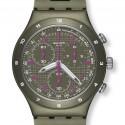 Ceas de mana barbatesc Swatch Green Coat YCM4002AG