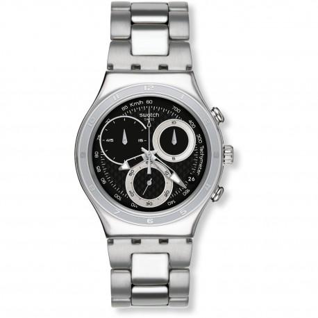 Ceas de mana barbatesc Swatch Oblique End Black YCS545G