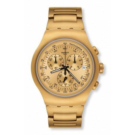 Ceas de mana barbatesc Swatch Golden Block YOG402G
