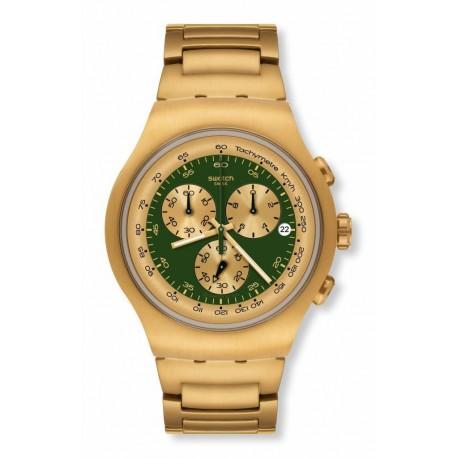 Ceas de mana barbatesc Swatch Golden Block Green YOG406G