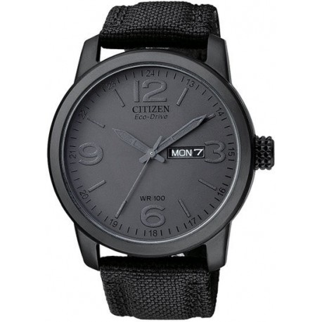 Ceas de mana barbatesc Citizen Eco Drive 100 Military BM8475-00F