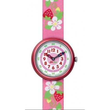 Ceas de mana copii Swatch Flik Flak Fragole in Fiore FBN082