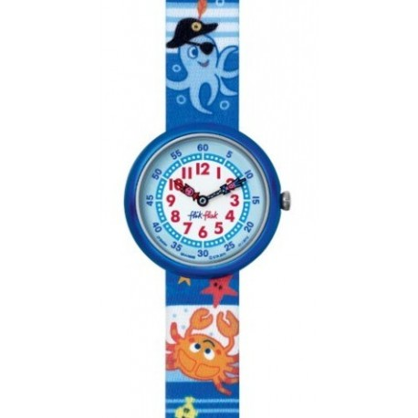 Ceas de mana copii Swatch Flik Flak Underwater Party FBN084