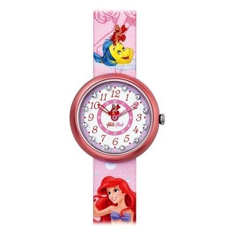 Ceas de mana copii Swatch Flik Flak Little Mermaid FLN047