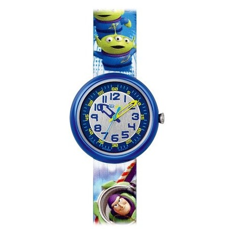 Ceas de mana copii Swatch Flik Flak Toy Story FLN052
