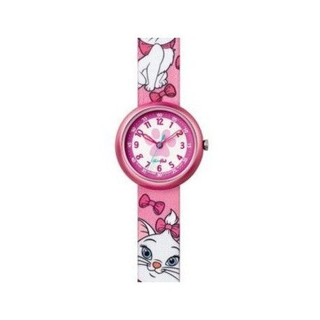 Ceas copii Swatch Flik Flak Disney Aristocats Marie FLN054