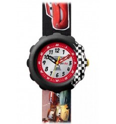 Ceas copii Swatch Flik Flak DISNEY CARS PISTON CUP FLS021