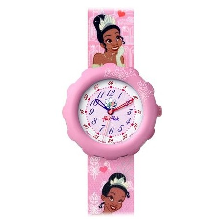 Ceas copii Swatch Flik Flak Disney Pritesa Tiana FLS026