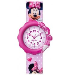Ceas de mana copii Swatch Flik Flak Minnie Mouse FLS032