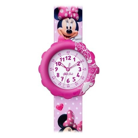 Ceas de mana copii Swatch Flik Flak Minnie Mouse FLS032